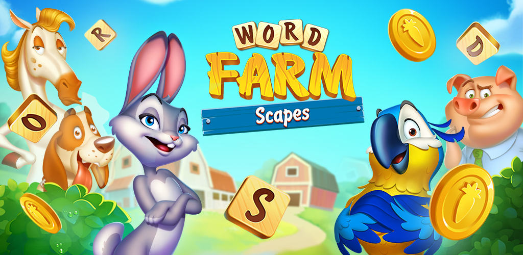 New Free Word Scrabble Puzzle Game Word Farm Scapes Gets Top Ratings 1