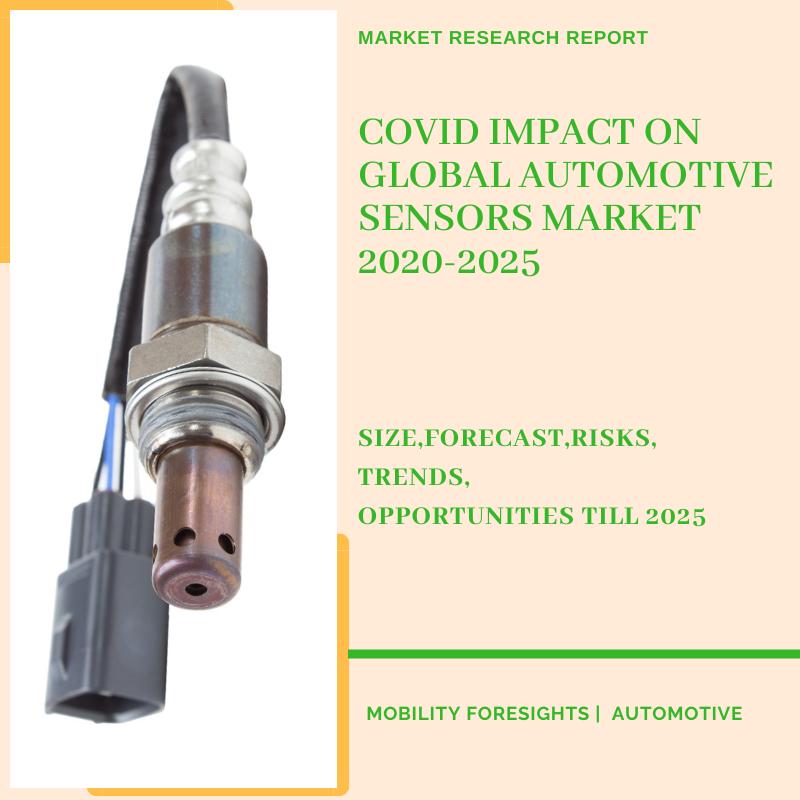 COVID Impact On Global Automotive Sensors Market 2020-2025 13