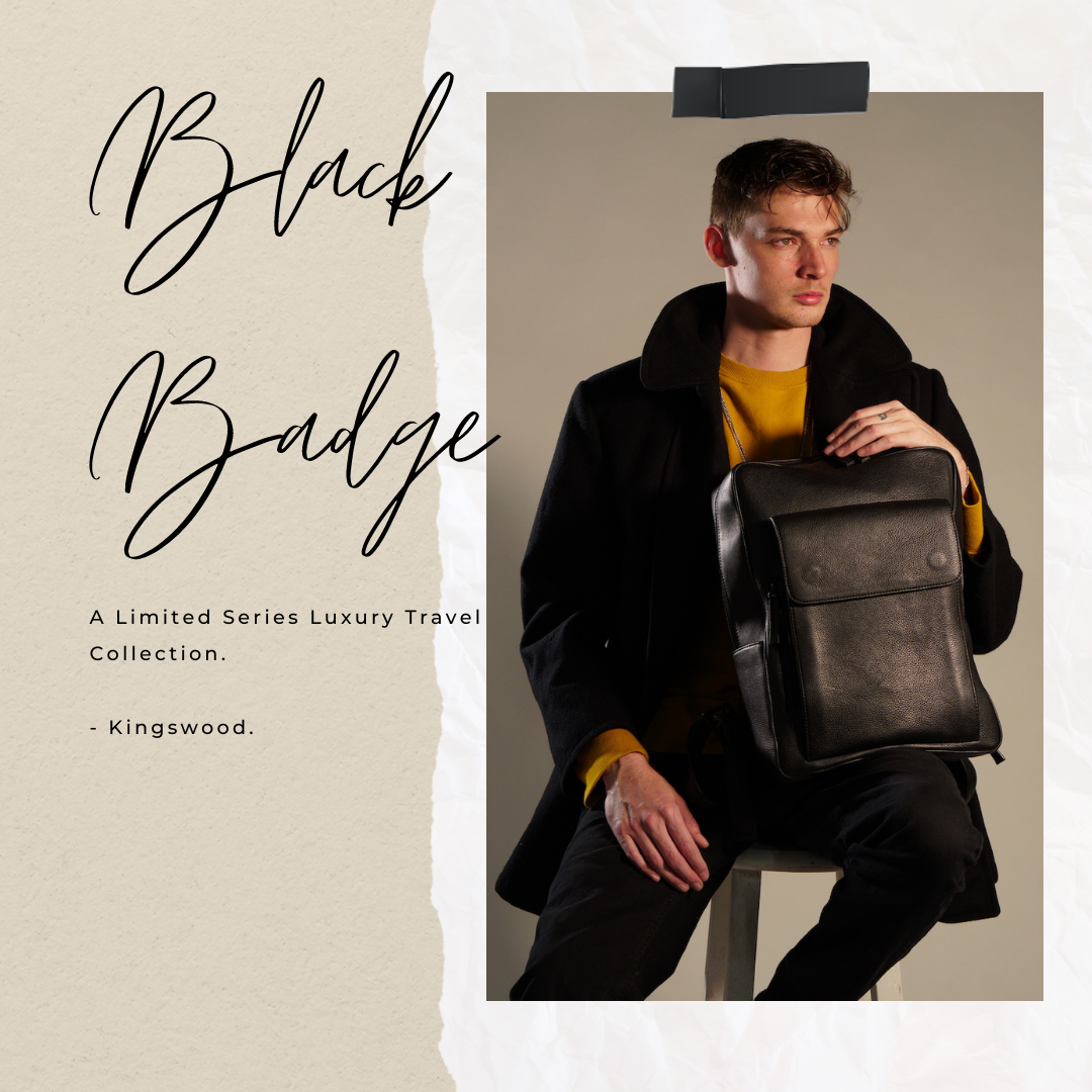 Los Angeles Designer Matt Wessels Launches His Brand Kingswood with his Made-In-LA Black Badge Backpack 1