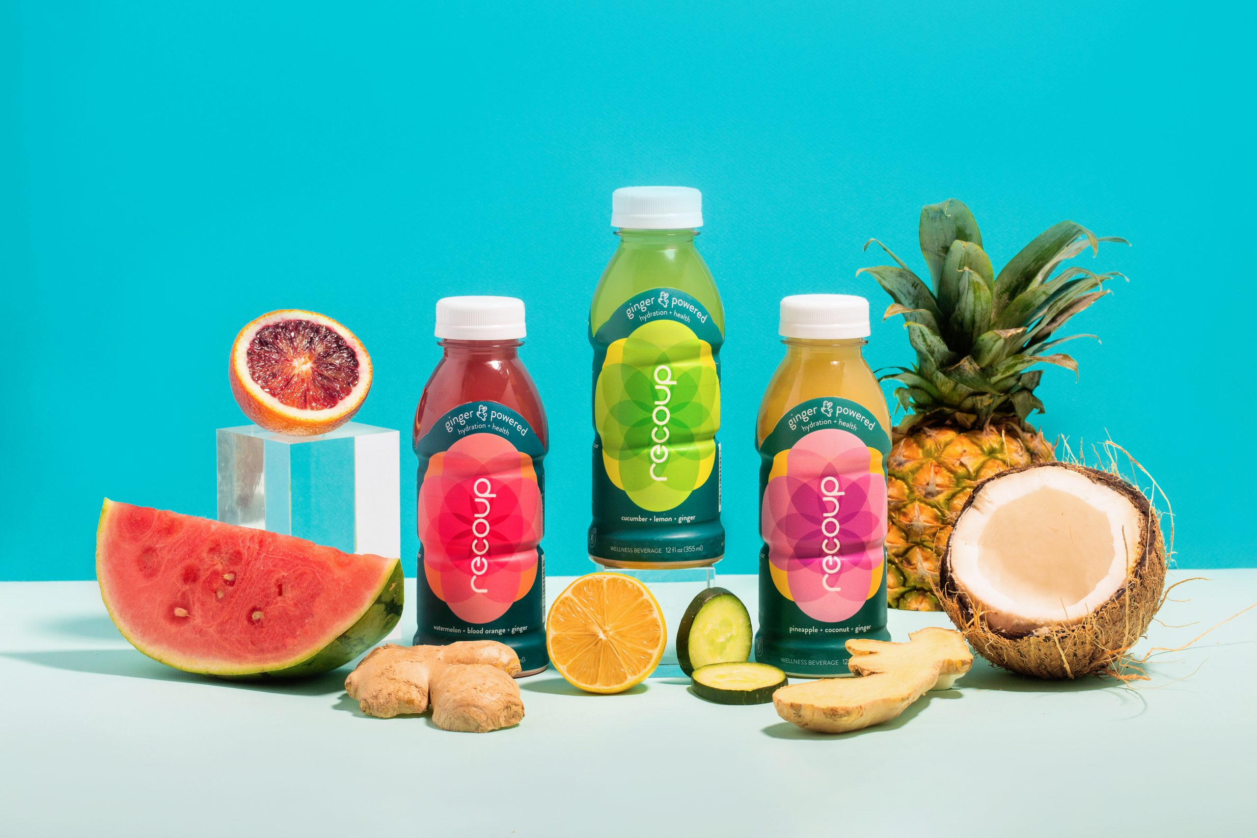 Recoup Relaunches First Ginger-Powered Hydration And Wellness Drink For A Healthy Alternative To Sugar-Filled Sports Drinks 1