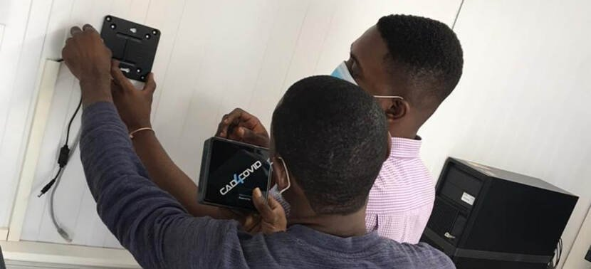 Delft Imaging fights COVID-19 with its CAD4COVID innovation across Ghana 1