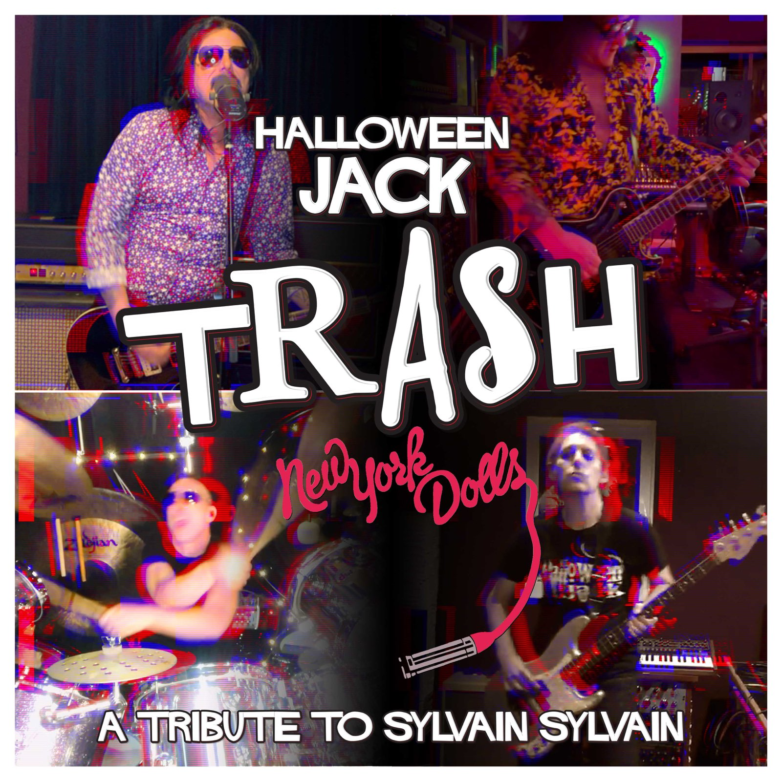 """Halloween Jack Releases Cover """"TRASH"""" Video as Tribute to New York Dolls' Sylvain Sylvain 1"""