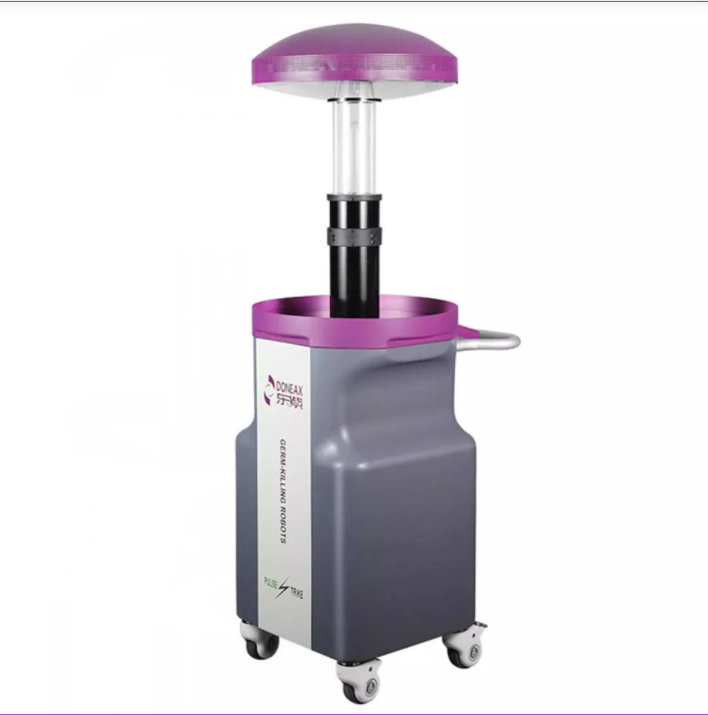 Study on the application of pulse ultraviolet disinfection robot in isolation ward of hospital 1