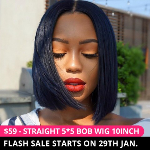 Straight Bob Wig Flash Sale In West Kiss Hair 8