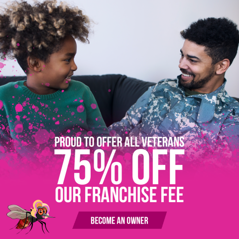 Local mosquito control company Mosquito Mary's offers veterans and first respondents massive discounts on franchising 3