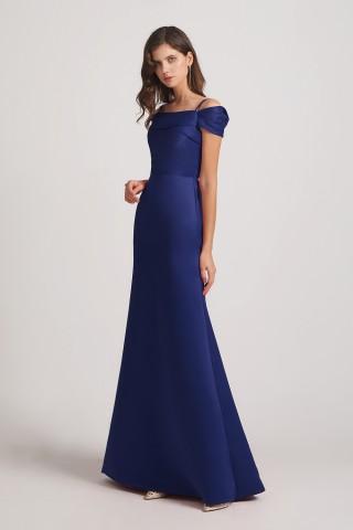 Top 5 Satin Bridesmaid Dresses from Alfabridal 3