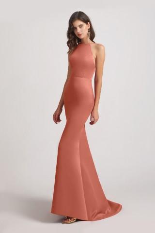 Top 5 Satin Bridesmaid Dresses from Alfabridal 5