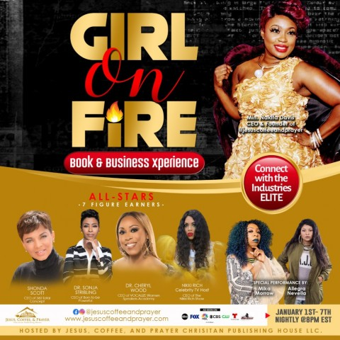 Girl on FIRE! Book & Business Xperience Captures the hearts of Women worldwide 1