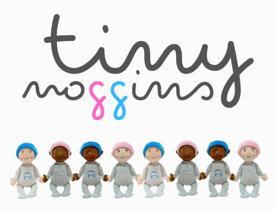 Tiny Noggins Plush Doll Represents Babies on Helmet Therapy 1