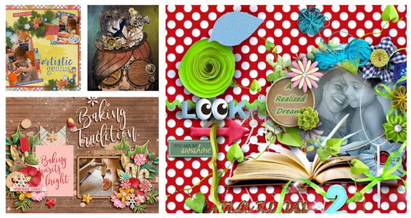 Digital Scrapbooking Kits Expand Creative Options And Support 2