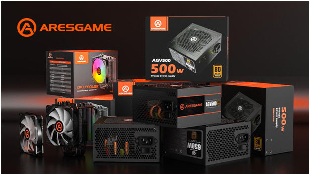 ARESGAME Introduces World-Class Power Supply Units with Well-Designed, Aesthetically Pleasing, Powerful, and Modern Features 1