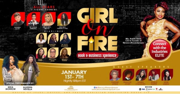 Girl on FIRE! Book & Business Xperience Captures the hearts of Women worldwide 2
