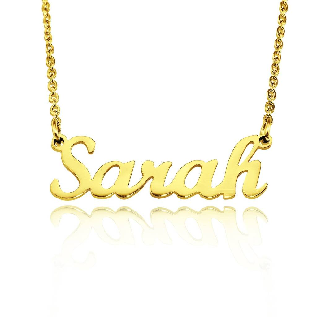 Bellefever Delivers The Complete Christmas Package With The Personalised Name Necklace Collection 1
