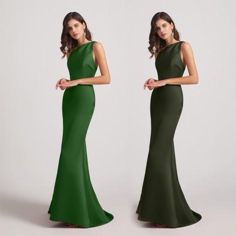 Top 5 Satin Bridesmaid Dresses from Alfabridal 4