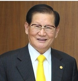 Chairman Lee Man Hee, Sacred Heart to the Promotion of Peace 1