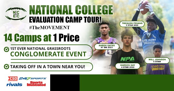 Elite Talent Football Academy Sponsors The Upcoming National College Evaluation Football Camp 3