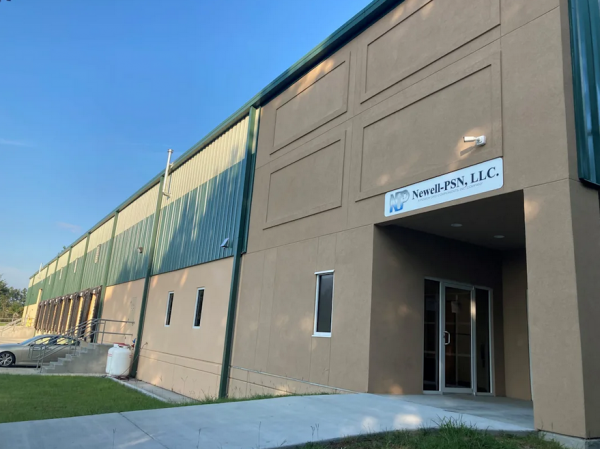 Newell-PSN Opens New Test Facility & Distribution Center Large Warehouse, offices and Test Lab to meet growing demands 1