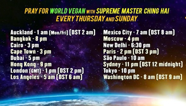 A Vegan World: A Global Prayer For World Peace 1