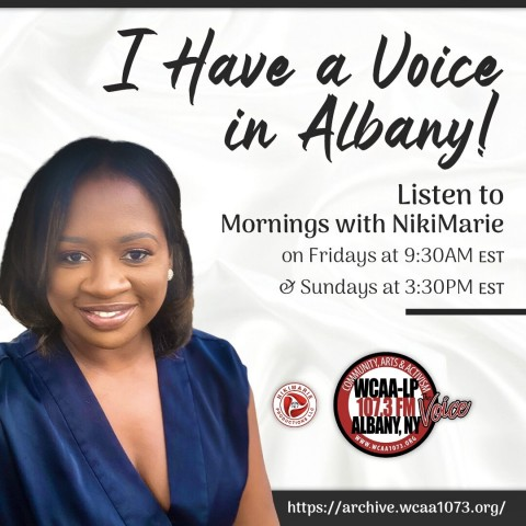 Entrepreneur and Radio Host, Nikiya Rodriguez Launches New Podcast Season and Joins WCAA-LP 107.3FM, Albany to Celebrate Exceptional Individuals 1