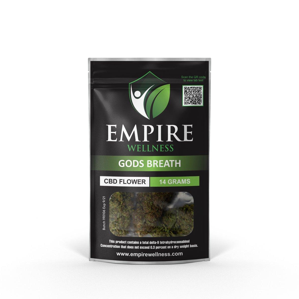 Empire Wellness Launches new CBD Flower Strains 11