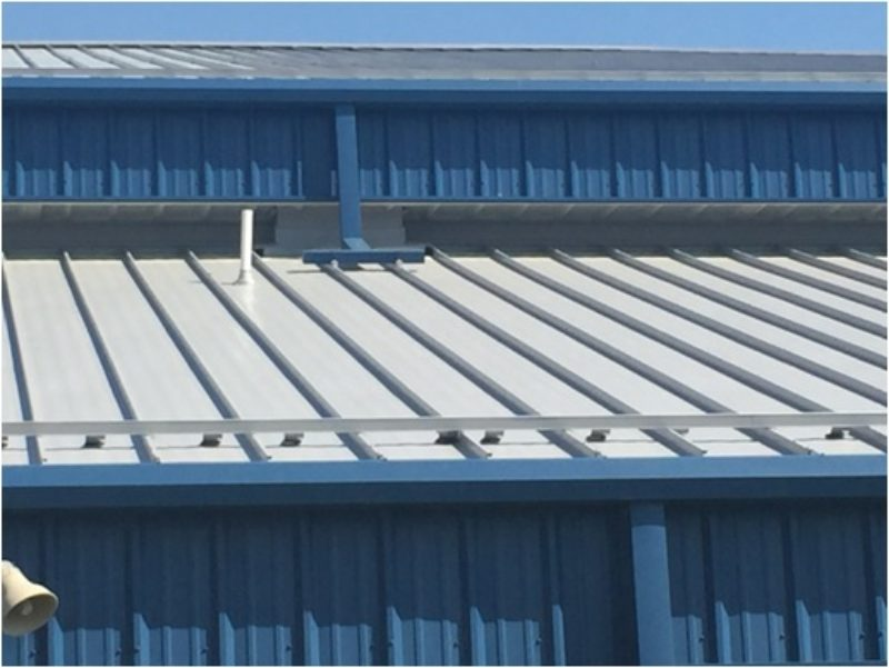 Explore the metal roof design of self-catering buildings 1