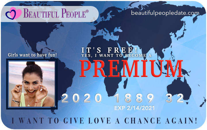 "Exciting new Dating Site ""Beautiful People"" Giving Away 12,000 Free Memberships Worldwide 3"