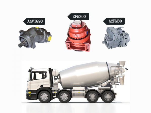 The components and working principle of concrete mixer truck 1