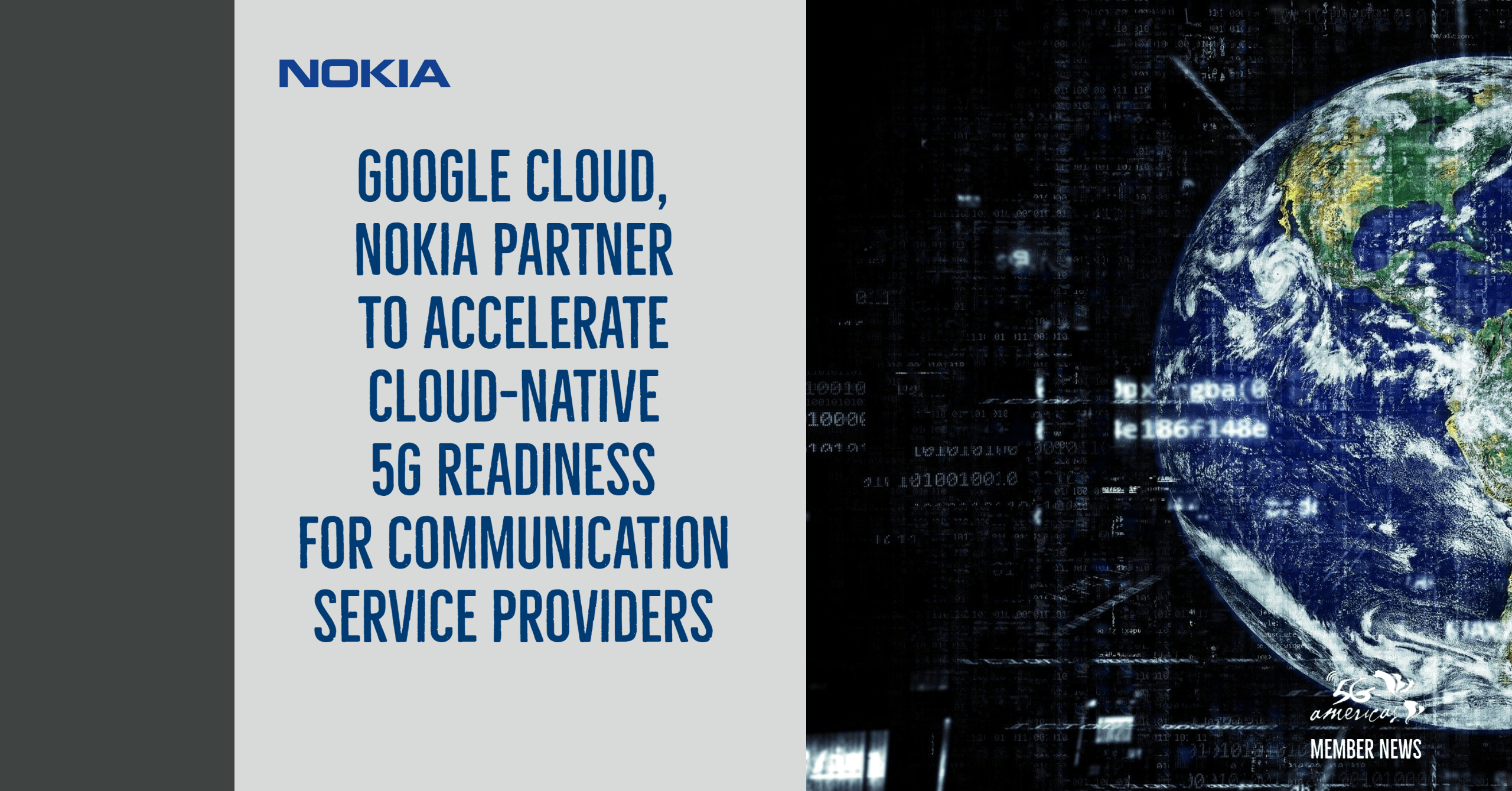 Google Cloud, Nokia partner to accelerate cloud-native 5G readiness for communication service providers 6