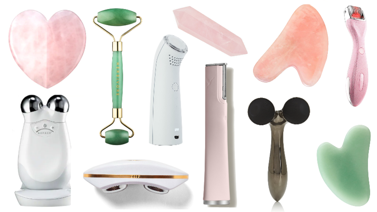 How can people find the suitable device for their skin care? 1
