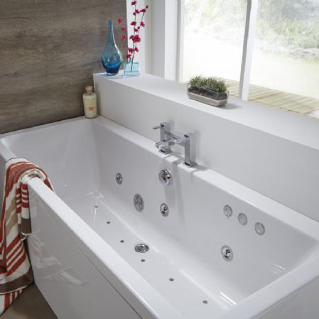 JT Spas Features More Variations for Whirlpool Baths, Including Single-Ended Whirlpool Baths Perfect for Smaller Spaces 1