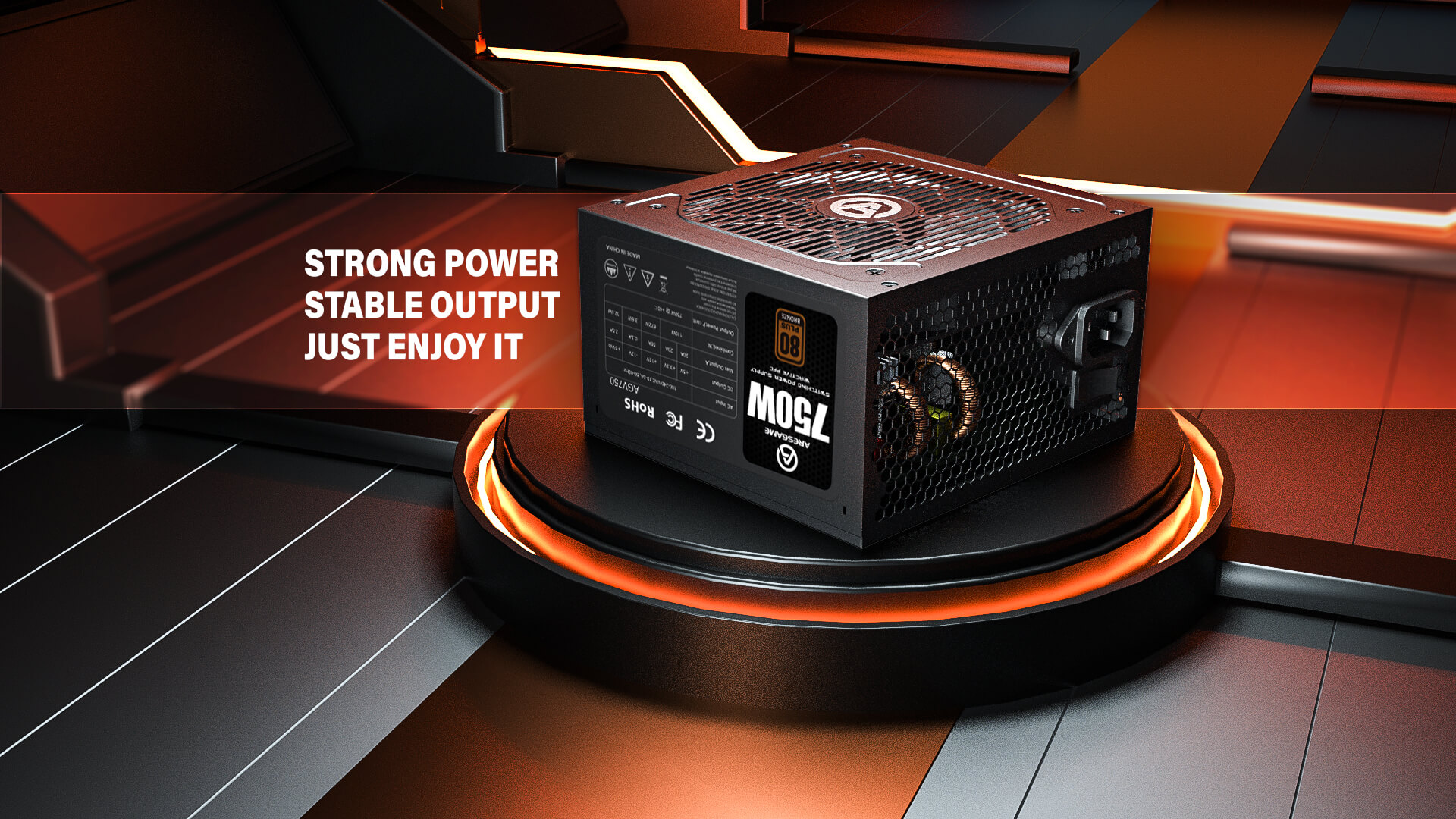 ARESGAME Unveils High-Performance Power Supply Units For Gaming And Available At Factory Cost To Global Market 1