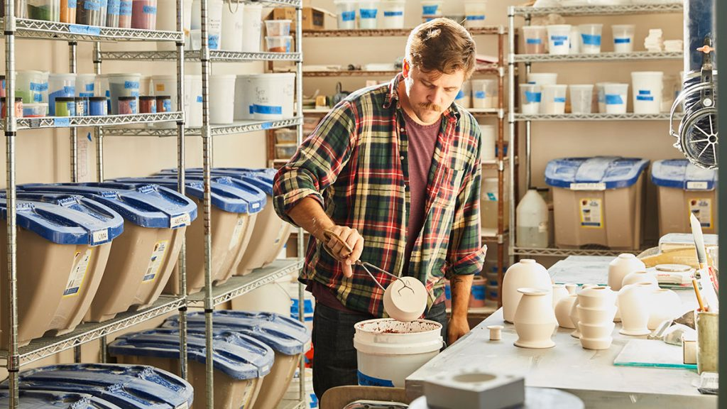 Nate Mell, Felt+Fat CEO, and His Team Innovate Ceramic Tableware for a Good Cause 1