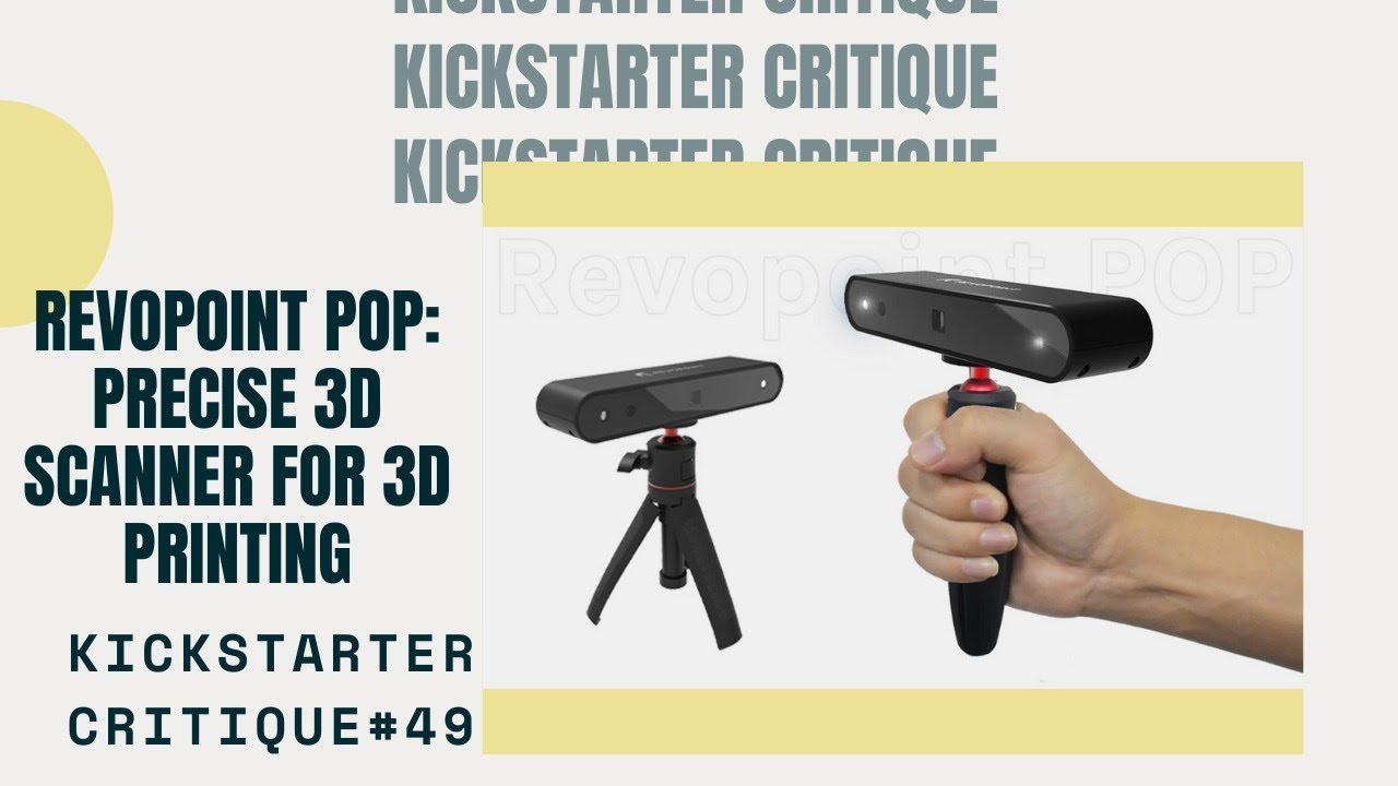 Revopoint POP: The Most successful 3D Scanner in Kickstarter history 1