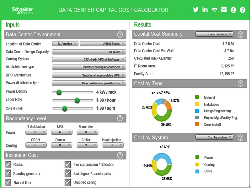 Schneider Electric has launched a new TradeOff Tool, the Edge UPS Fleet Management Comparison Calculator 2