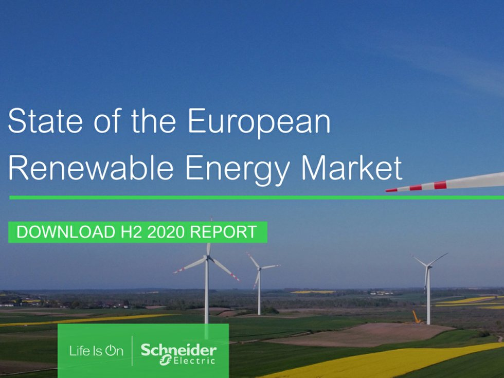Schneider Electric releases report on state of European renewable energy market 9