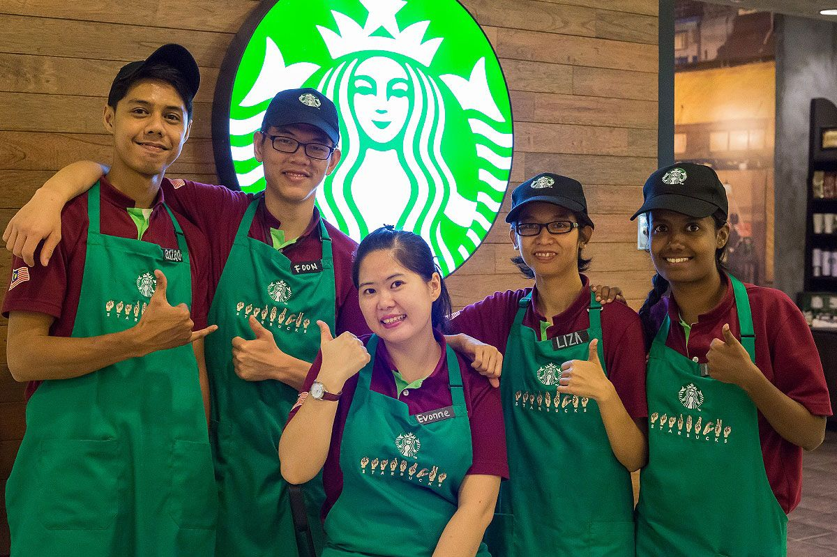 Starbucks opens cafe staffed by hearing-impaired baristas 1