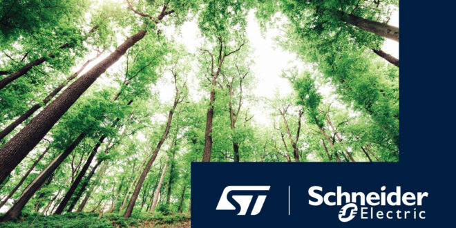 STMicroelectronics Partners with Schneider Electric on Carbon Neutrality and Co-Development of Energy-Efficient Solutions 7
