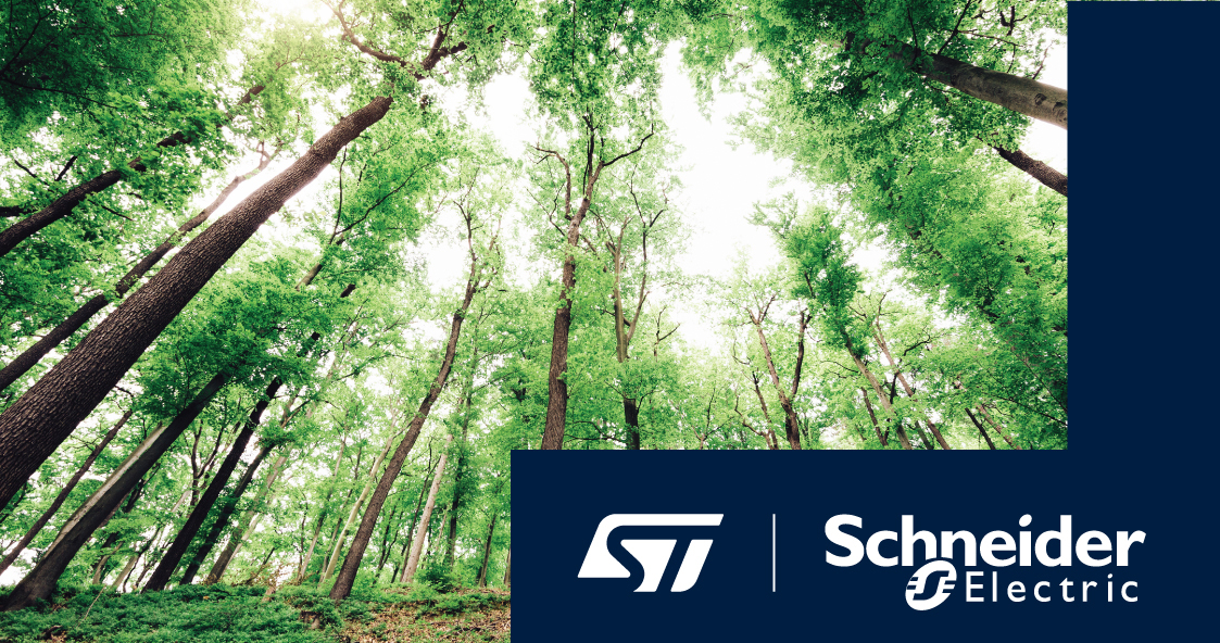 STMicroelectronics, Schneider Electric Partner on Carbon Neutrality, Energy-Efficient Solutions 1