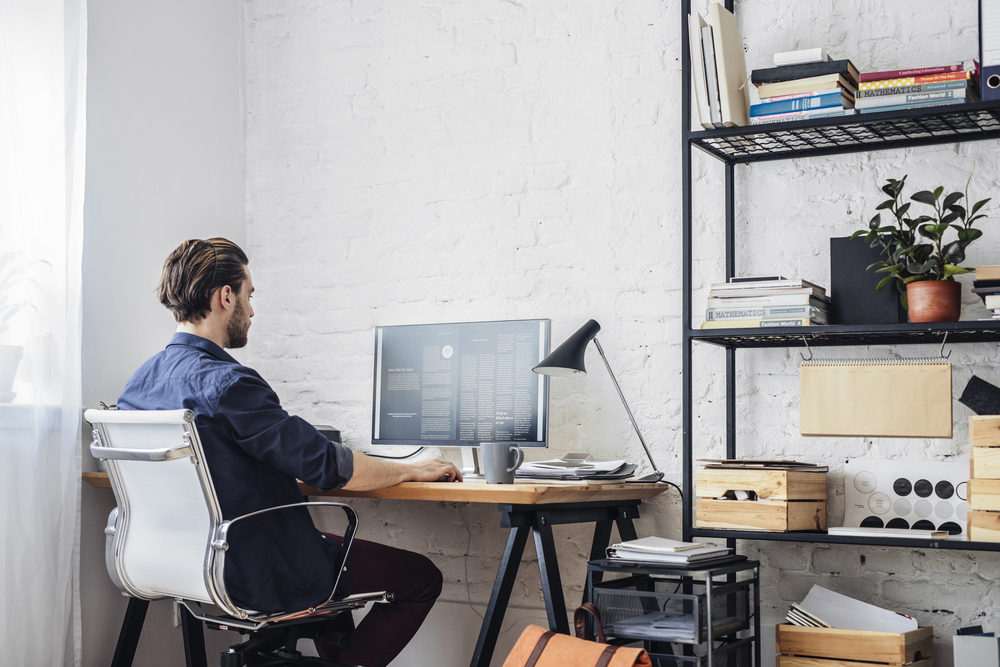 Modern Sense Furniture Sharing 3 Tips For Setting Up A Home Office 1