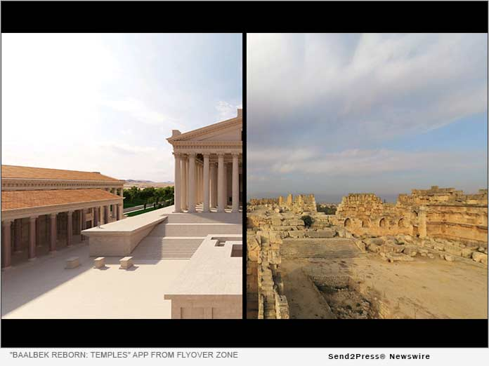 Travel Back in Time on a Virtual 3D Tour to the Famed Roman Temples of Baalbek 4