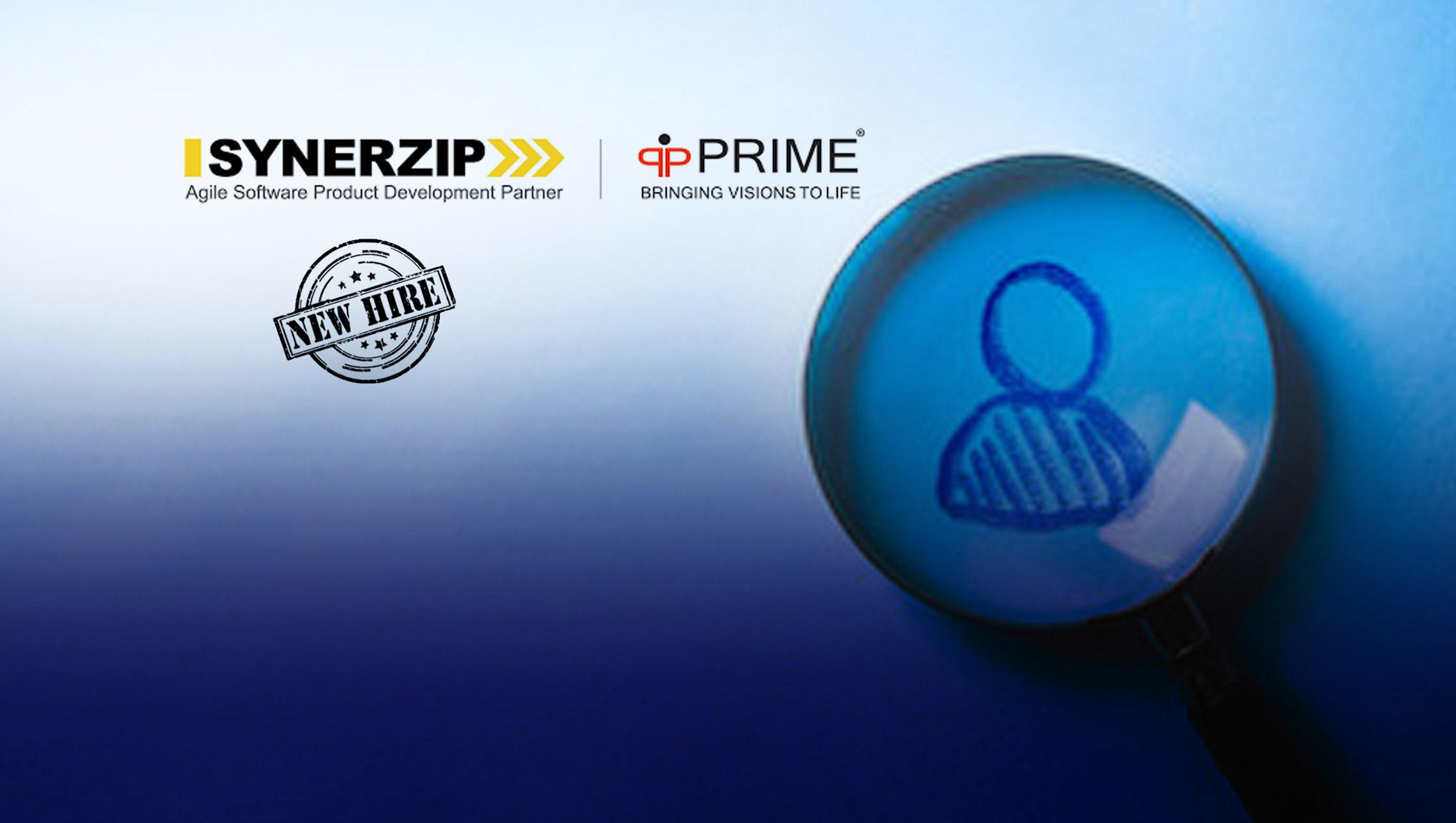 Nick Sharma Announced As CEO To Lead Synerzip/Prime 1
