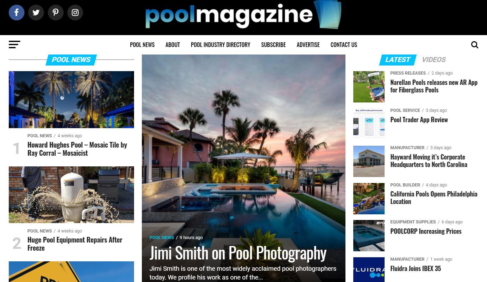 Pool Industry Veteran Launches New Magazine 1