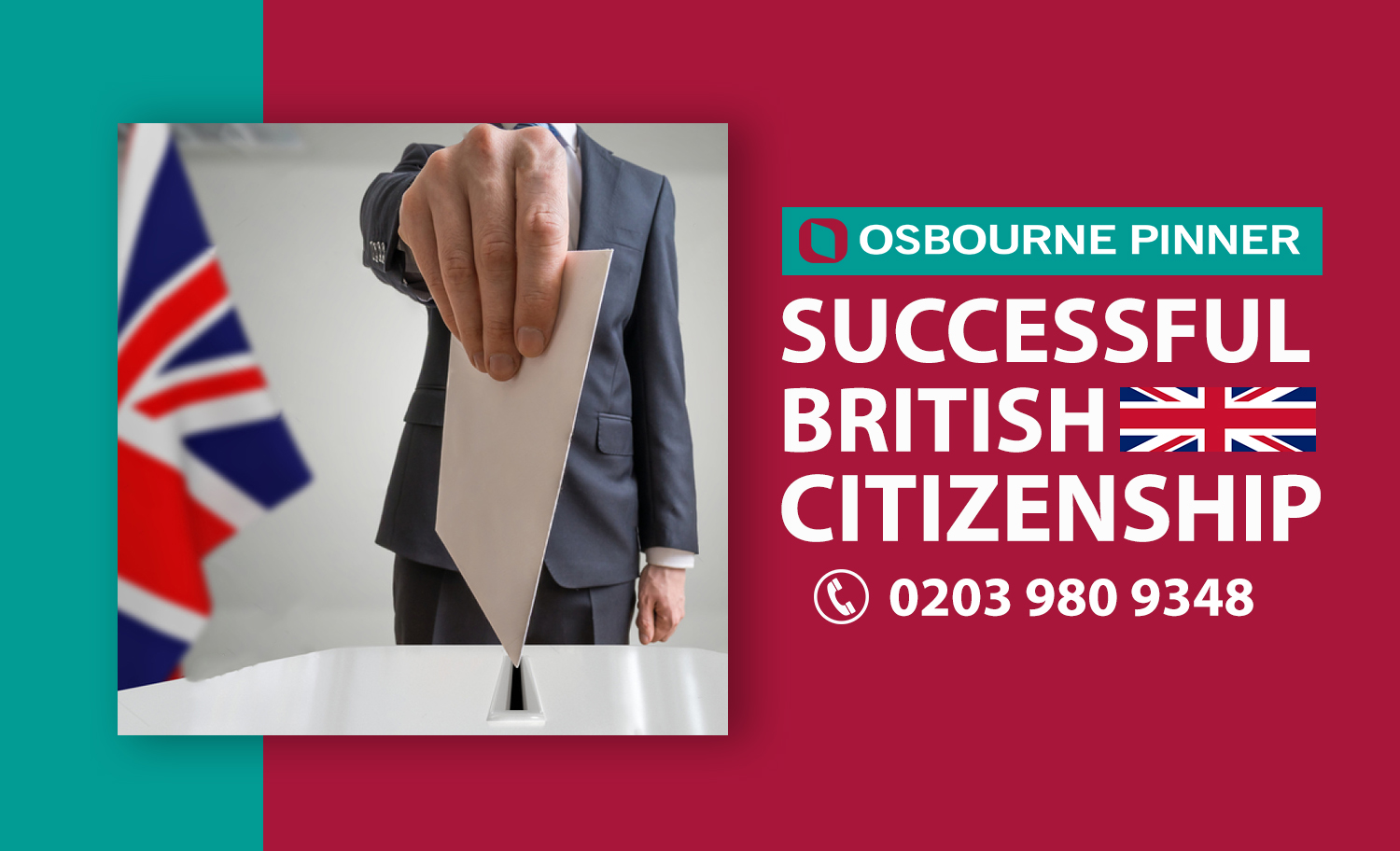 Osbourne Pinner's Another Successful Naturalisation as a British Citizen 25