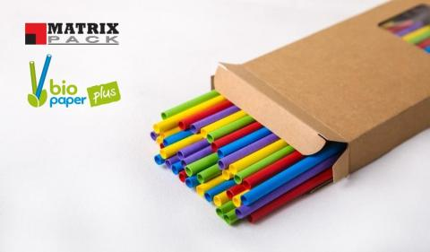 Bio Paper Plus Color Straw is Available Now by Matrix Pack 26