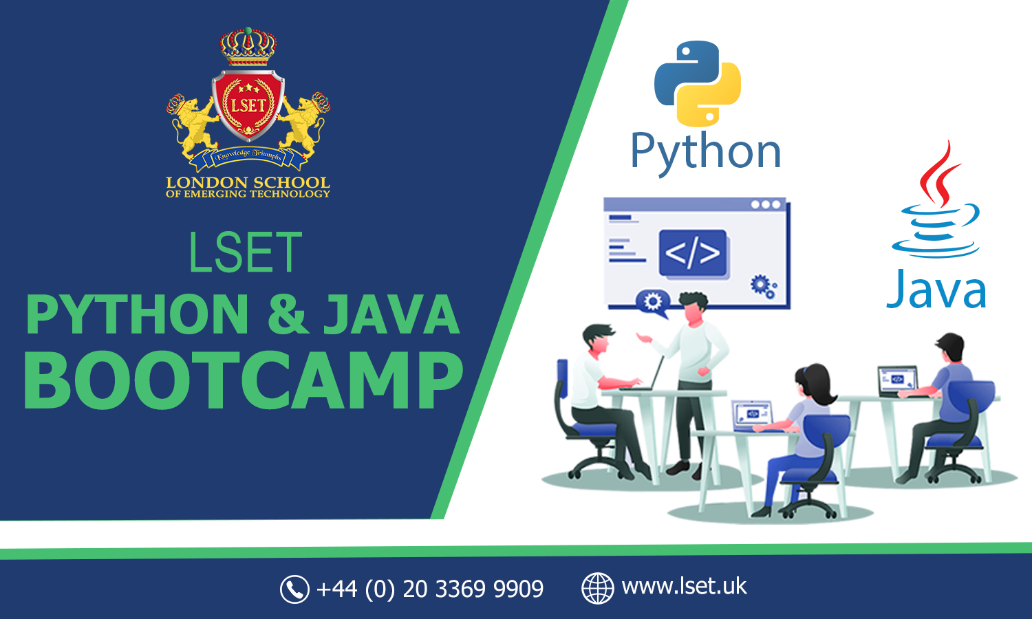 LSET is Coming up with Java and Python Bootcamps 20