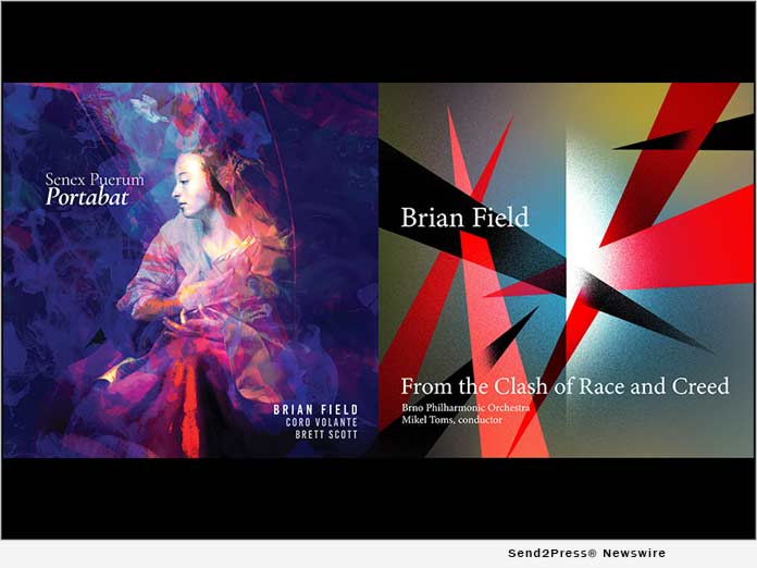 Award-winning composer, Brian Field, releases musical tracks of hope and love 3
