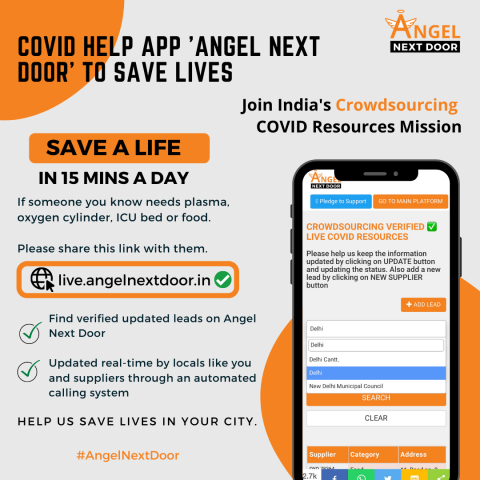 Australia's Covid Help App 'Angel Next Door' Launches in India 16