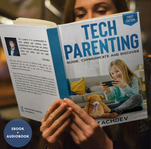 Social Media Researcher Zachdev, Launches his Book on Tech Parenting. 1