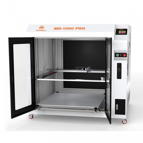 MINGDA Large-scale MD-1000 Pro 3D Printer Witnesses the Development of Autonomous Electric Vehicles in France 1