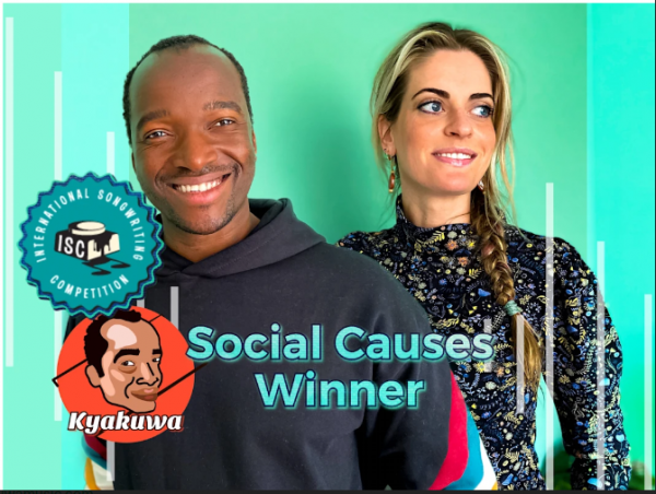 """""""One Meter fifty"""" written by Isaac Bullock and Marlice Baart Wins Best Social Causes Song of 2020 at the International Songwriting Competition 24"""
